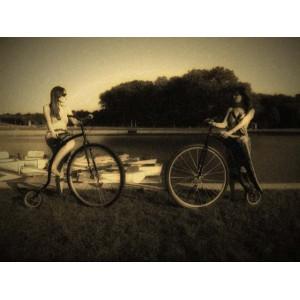 Un voyage dans le temps à bicyclette